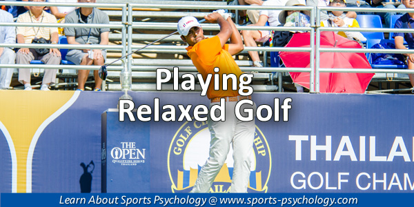 Playing Relaxed in Sports