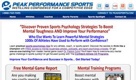 Peaksports Website