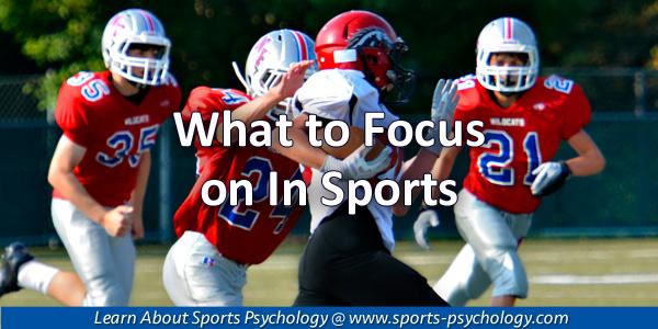 Focus in Sports