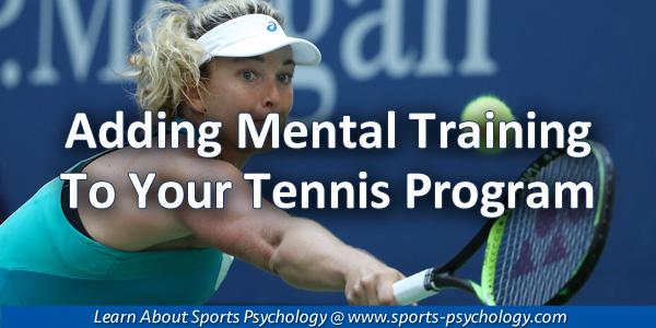 Tennis Mental Training