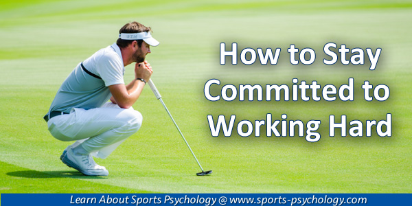 Commitment in Sports
